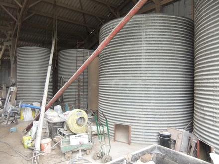 Silo de grain